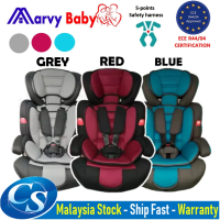 MarvyBaby Certification(ECE R44/04) Kids Child Car Baby Safety Seat 9-36KG 5-Point Harness Baby Booster (9months-12Yrs)