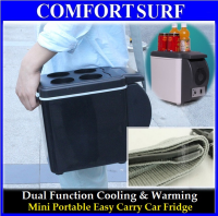 6L Portable Car Electronic 2-in-1 Cooling & Warming Refrigerator Fridge Storage