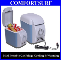 7.5L Portable Car Electronic 2-in-1 Cooling & Warming Refrigerator Fridge Storage