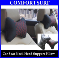 Car Seat Neck / Head Comfortable Support Pillow (One Pair)