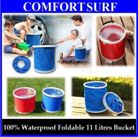 Foldable & Easy Carry 11 Litre Bucket Pail