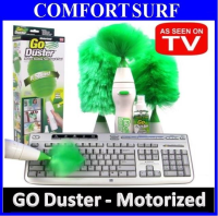 go duster multifunctional electronics motorized dust cleaning brush. Black Bedroom Furniture Sets. Home Design Ideas