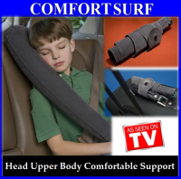 Inflatable Fold-able Luxury Travel Pillow Head Neck Upper Body Comfortable Support