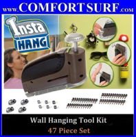 INSTA HANG Wall Hook Drywall Hangers with 47 Piece Set