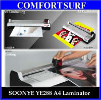 Multifunction 6-in-1 A4 Laminator - Laminate +Trimmer + Corner Cutter Rounder