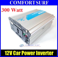 LonSam Car Power Inverter 300 Watt DC 12V to AC 220V +USB 5V