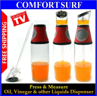Press & Measure Oil & Vinegar Dispenser