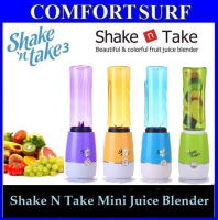 Shake N Take 3 3rd Generation Mini Juice Blender 1 Bottle