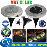 SL016 Underground Solar Powered LED Garden Light lamp Buried Floor Light Outdoor Ground Lights Waterproof