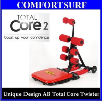 Unique Design Total Core II Twister AB Workout Machine with 6 Spring