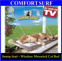 Home Window Mounted Cat Pet Sleeping Resting Bed Sunny Seat