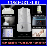 Original HYUNDAI Ultrasonic Air Purifier Humidifier Aroma Diffuser