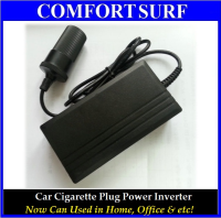 Car Cigarette Power Inverter Converter 220V to 12V 60W 5A for Home Office Car Use