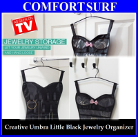 Umbra Little Black Corset Jewelry Belt Organizer