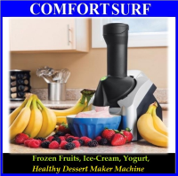 Frozen Fruit, Ice Cream, Yogurt, Smoothies, Healthy Dessert Maker