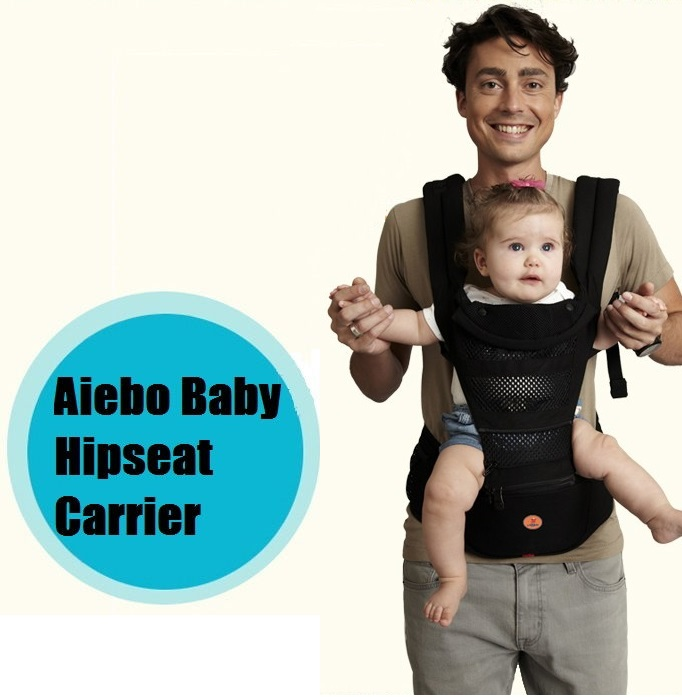 Aiebo Baby Hipseat Seat Baby Carrier (Newborn up to 20 kgs)