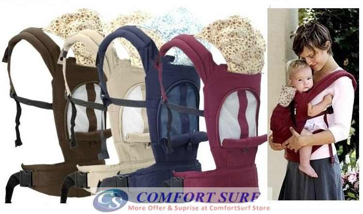 NEW Ergobaby Breathable Baby Carrier for Baby Child (Carry up to 16kg)