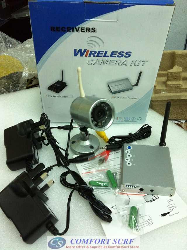 Wireless CCTV Security Camera - Night Vision