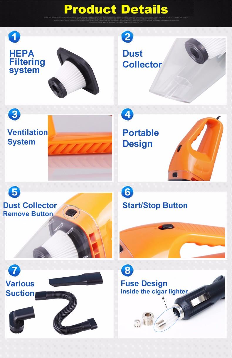 vacuum car cleaner dust remover