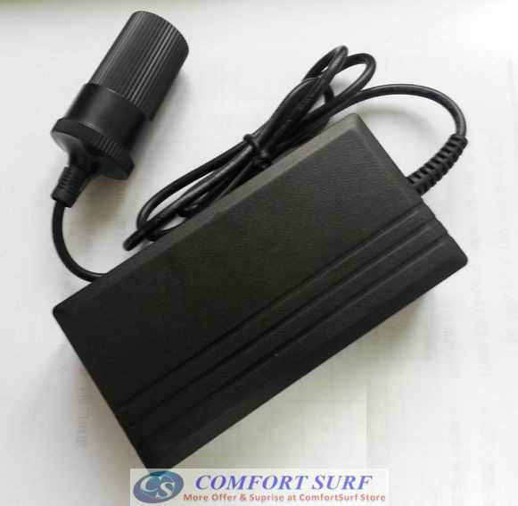 Car Cigarette Power Inverter Converter 220V to 12V 60W 5A for Home, Car Use