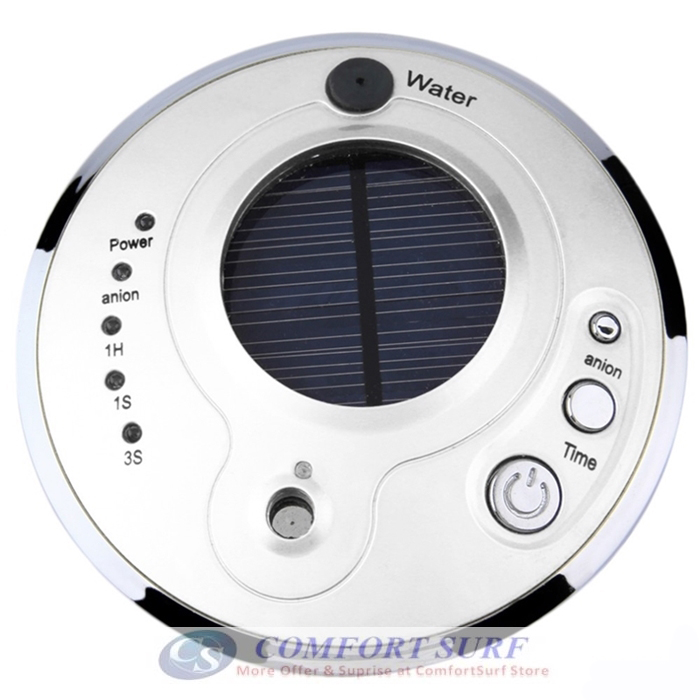 UFO Pattern Car Solar Anion Humidifier with Adjustable Mist Mode Air Humidifier Purifier