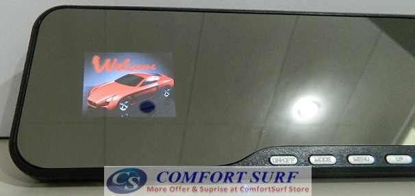 Car Mirro Full HD DVR CCTV DVR