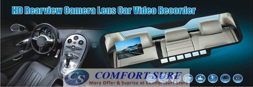 Car Mirro Full HD DVR CCTV DVR Camera Camcorder