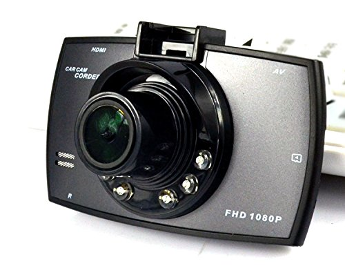 Car DVR Camera Dash Cam Video 2.7 LCD with Rear Cam Car Cam Recorder