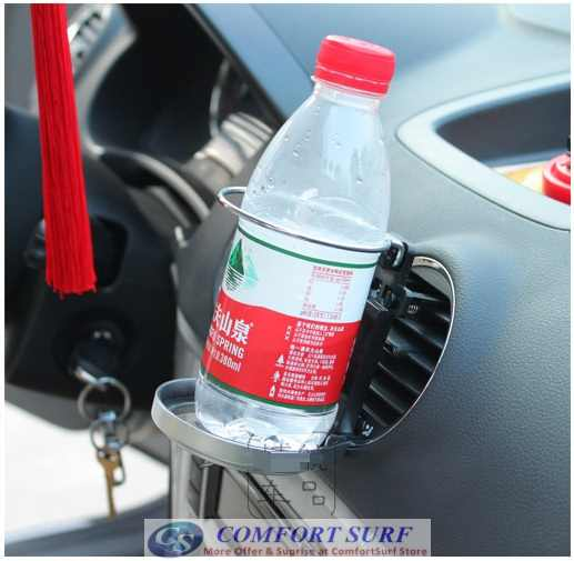 Car Foldable Cup Bottle Drink Holder Attached with Fan Cooler