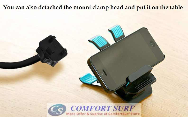 NEW Version 360° Flexible Universal Mobile Phone Holder with Adjustable Stand - Suitable for All Type of Phone