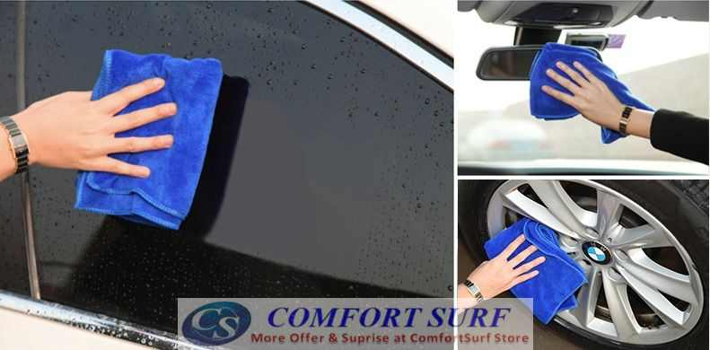 Multi-Use Car Wash Cleaning Microfiber Towel 160 x 60 cm