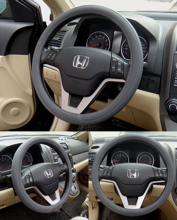 High Grade Micro Fiber Leather Car Steering Wheel Cover