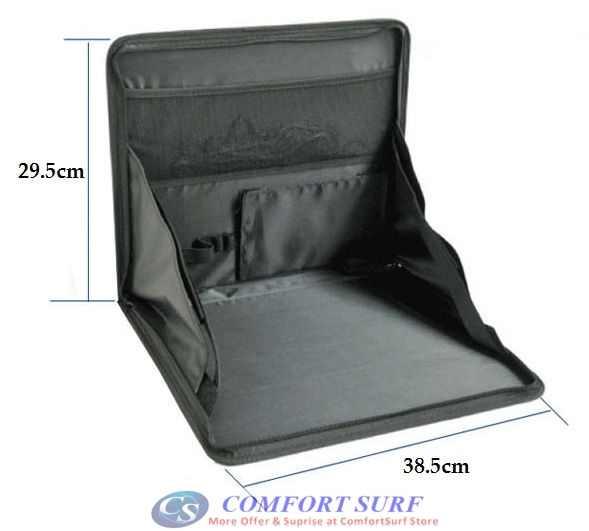 Multi-Purpose Foldable Mini Car Laptop Holder / Dining Table / Store or Keep Files