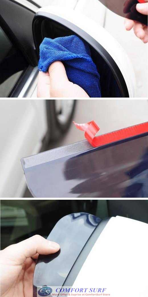 Car Rear View Mirror Anti Rain Rainproof Blade Eyebrow