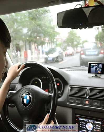 Wireless reversing cameras for cars