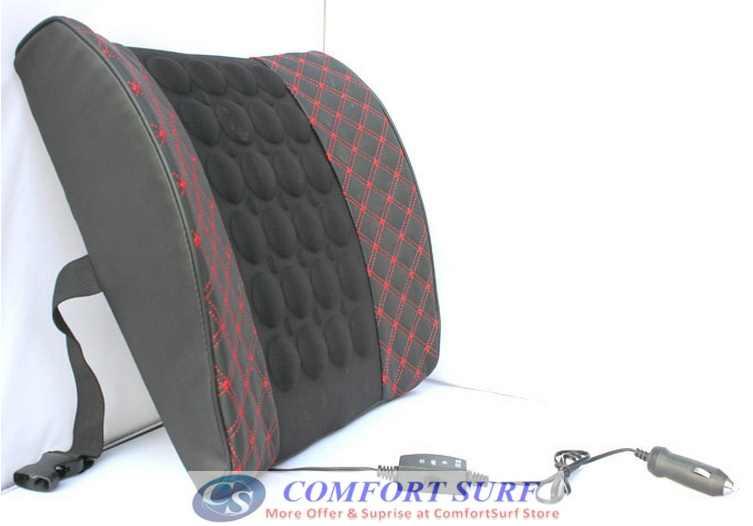 Backrest Cushion Car Seat Back Support Massage