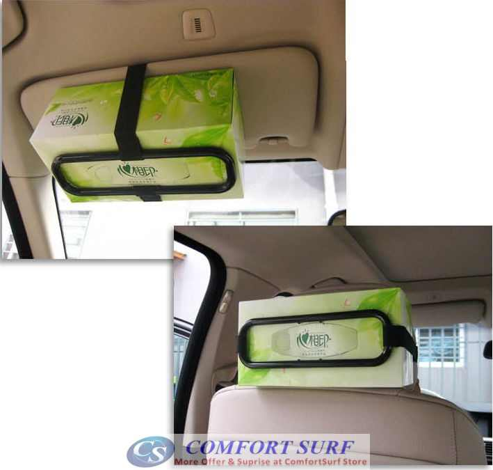 Universal Multi-Way Car Tissue Box Holder