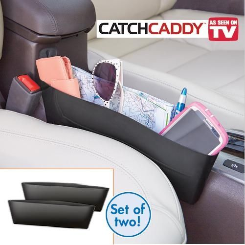 ASOTV ! Catch Caddy Seat Pocket Catcher car Organizer