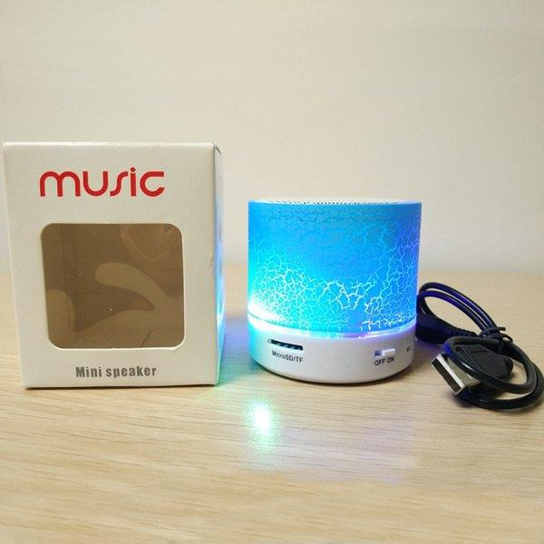 LED Light MINI Bluetooth A9 TF USB Wireless Portable Music Sound Speaker