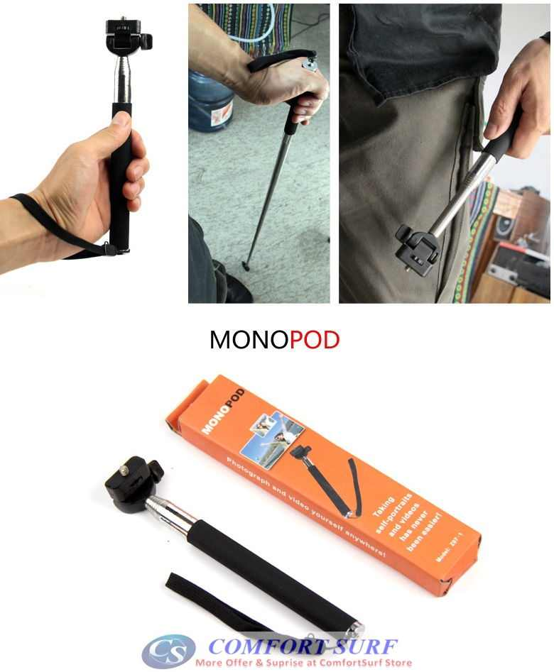 super long extendable pocket size handheld camera multifunction selfie monopod bluetooth. Black Bedroom Furniture Sets. Home Design Ideas