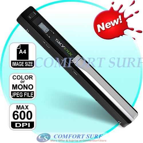 Mini Portable SkyPix Handheld / Cordless Color Scanner Printer