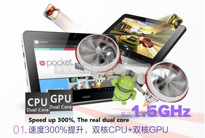 Ainol Novo7 Aurora II 1G DDR3 IPS Cortex A9 Dual Core Amlogic 8726-M6