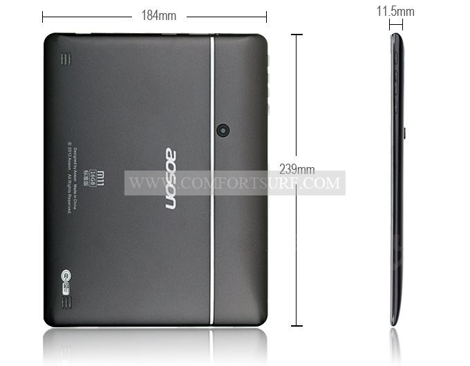 Aosonn M11 9.7 inch Android 4.04 1GB RAM + 16GB IPS Capacitive Touch Screen