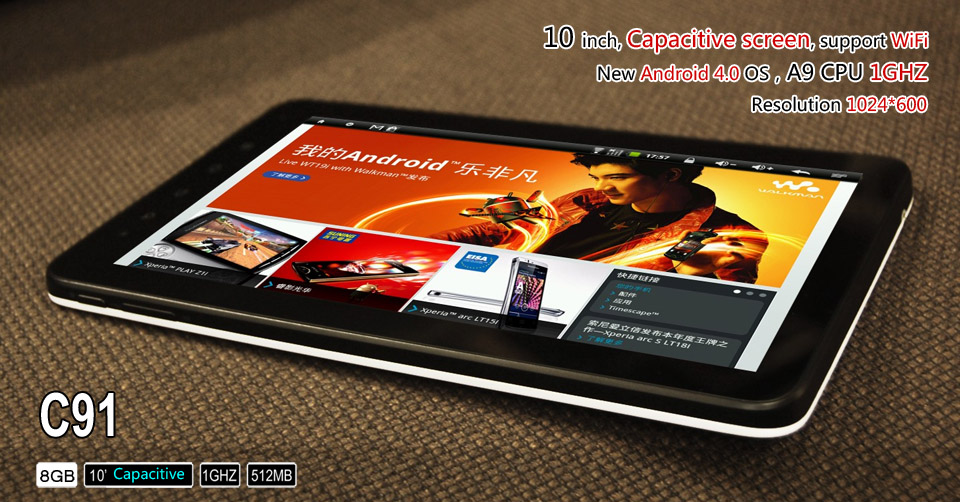 Zenithink C91 Android 4.0