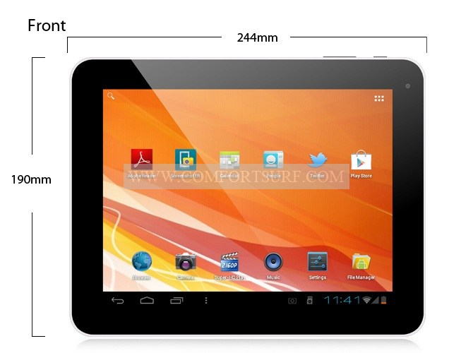 EKEN A90 9.7 inch Android 4.03 1GB RAM IPS