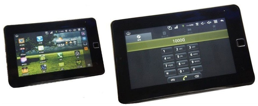 7inch NetPad W1 WonderMedia WM8650 GSM Voice Call Tablet PC