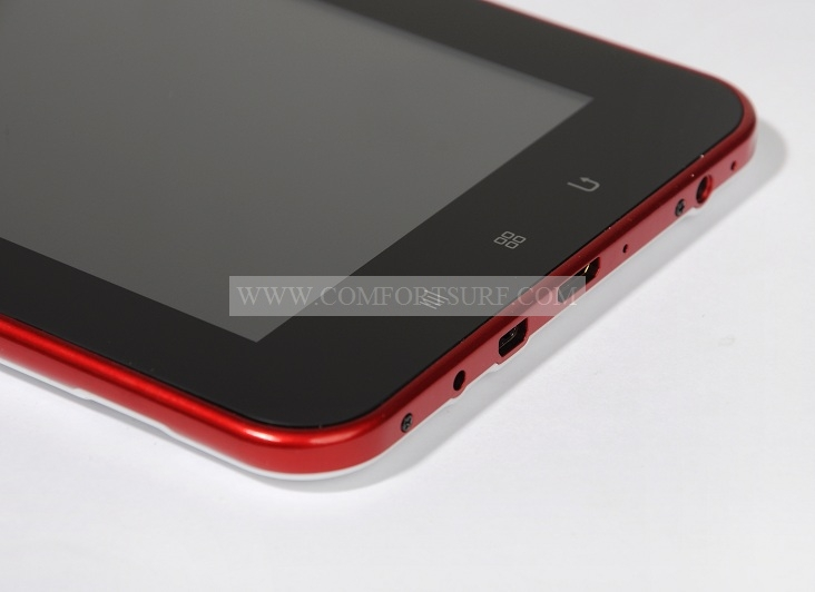Allwinner Netpad A10 LY-F2 Red color