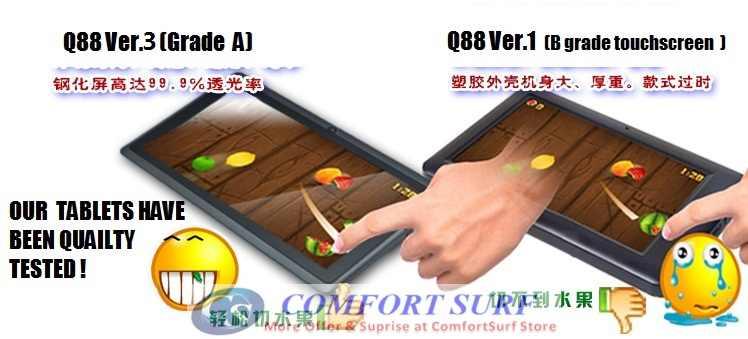 Allwinner A13 Netpad A13s aka Q88 V3 Androif                         4.03 Tablet PC
