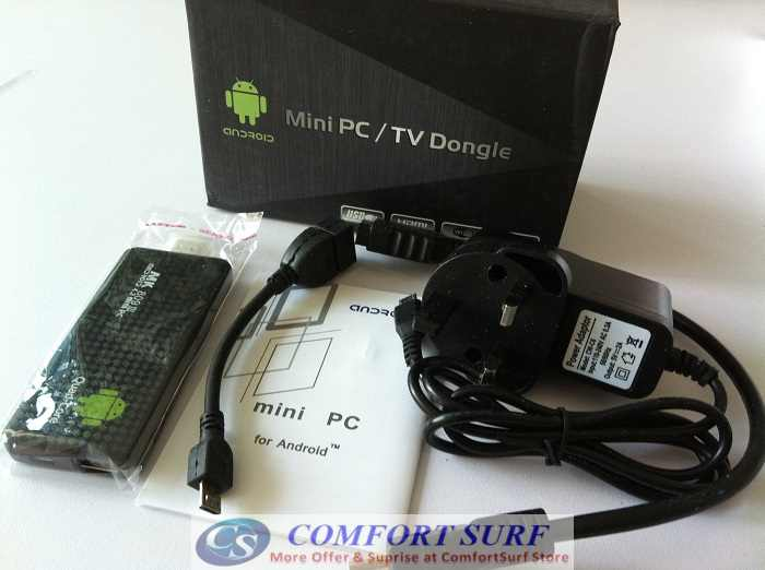 MK809 III Android 4.2 2GB RAM Mini PC TV Dongle - - Turn Your TV into A Smart TV with android 4.1 Jelly Bean