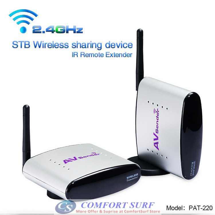 Original Pakite PAT-630 (5.8GHz) & PAT-330 (2.4GHz) Wireless AV Transmitter Astro